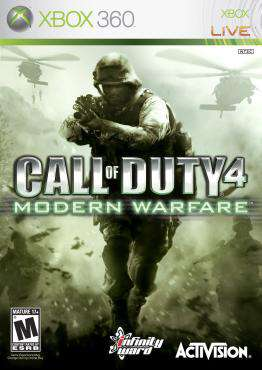Call of Duty: Modern Warfare Xbox 360, Game on XBOX360, Shooter Video Games, ,  on XBOX360