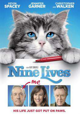 Nine Lives, Movie on Blu-Ray, Comedy Movies, Family Movies, Comedy Movies, Family Movies, ,  on Blu-Ray