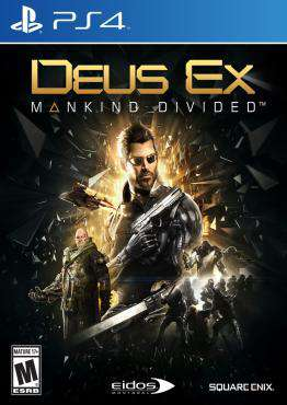 Deus Ex: Mankind Divided, Game on PS4, Shooter Video Games, ,  on PS4