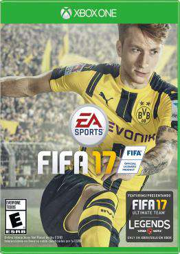 FIFA 17 Xbox One, Game on XBOXONE, Sports Video Games, ,  on XBOXONE