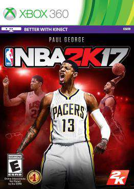NBA 2K17 Xbox 360, Game on XBOX360, Sports Video Games, ,  on XBOX360