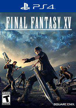 Final Fantasy XV, Game on PS4, Action Video Games, ,  on PS4