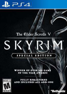 Skyrim, Game on PS4, Action Video Games, ,  on PS4