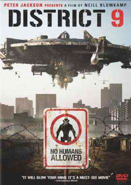 District 9, Movie on DVD, Action Movies, ,  on DVD