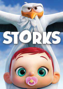 Storks, Movie on DVD, Animated Movies, Kids Movies, Comedy Movies, Family Movies, new movies, new movies on DVD