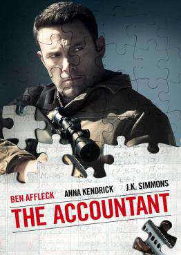 The Accountant, Movie on Blu-Ray, Drama Movies, Thriller & Suspense Movies, ,  on Blu-Ray