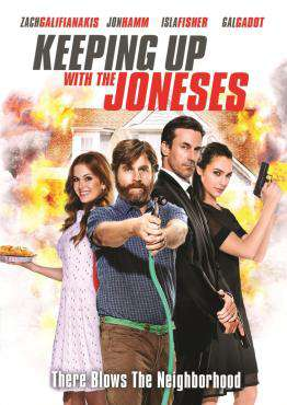 Keeping Up With The Joneses, Movie on Blu-Ray, Action Movies, Comedy Movies, ,  on Blu-Ray