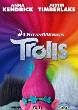 Trolls, Movie on Blu-Ray, Family Movies, Kids Movies, ,  on Blu-Ray
