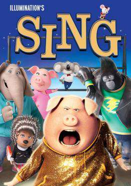 Sing, Movie on Blu-Ray, Family Movies, ,  on Blu-Ray