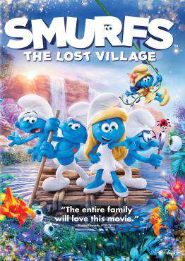 Smurfs: The Lost Village, Movie on Blu-Ray, Family Movies, ,  on Blu-Ray