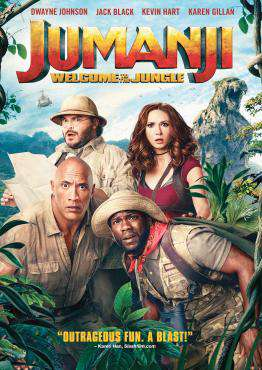 Jumanji: Welcome to the Jungle, Movie on DVD, Action Movies, Comedy Movies, new movies, new movies on DVD