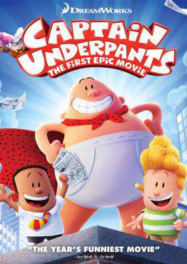 Captain Underpants: The First Epic Movie, Movie on Blu-Ray, Family Movies, ,  on Blu-Ray