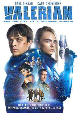 Valerian and the City of a Thousand Planets, Movie on DVD, Action Movies, Sci-Fi & Fantasy Movies, Adventure Movies, ,  on DVD