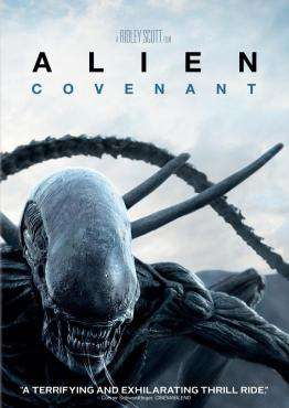 Alien: Covenant, Movie on Blu-Ray, Sci-Fi & Fantasy Movies, Action Movies, ,  on Blu-Ray