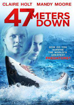 47 Meters Down, Movie on Blu-Ray, Horror Movies, Thriller & Suspense Movies, ,  on Blu-Ray