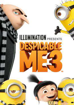 Despicable Me 3, Movie on DVD, Family Movies, new movies, new movies on DVD
