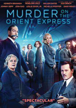 Murder On The Orient Express (2017), Movie on DVD, Thriller & Suspense Movies, new movies, new movies on DVD