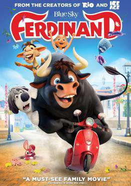 Ferdinand, Movie on DVD, Family Movies, new movies, new movies on DVD