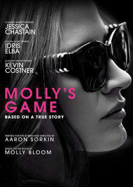 Molly's Game, Movie on DVD, Drama Movies, new movies, new movies on DVD