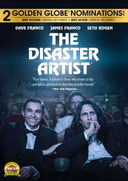 The Disaster Artist, Movie on DVD, Comedy Movies, new movies, new movies on DVD
