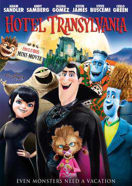 Hotel Transylvania, Movie on DVD, Comedy