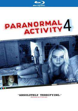 Paranormal Activity 4 (Blu-ray)