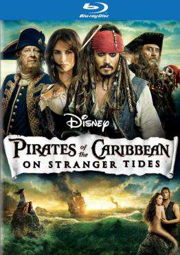 Pirates of the Caribbean:Stranger Tides (Blu-ray)