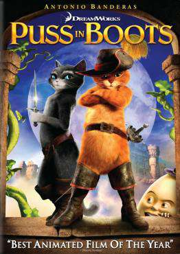 Puss in Boots, Movie on Blu-Ray, Family Movies, Kids Movies, Animation Movies, ,  on Blu-Ray