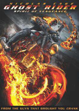 Ghost Rider: Spirit of Vengeance, Movie on DVD, Action