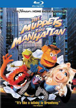 The Muppets Take Manhattan (1984) (Blu-ray)