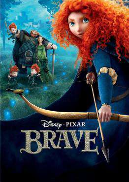 Brave, Movie on DVD, Family Movies, ,  on DVD