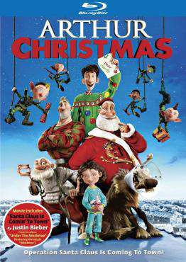 Arthur Christmas, Movie on BluRay, Family