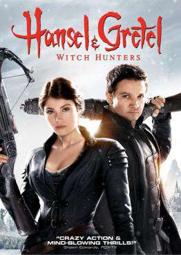 Hansel and Gretel: Witch Hunters, Movie on DVD, Action Movies, ,  on DVD