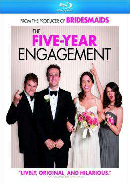The Five-Year Engagement, Movie on BluRay, Comedy