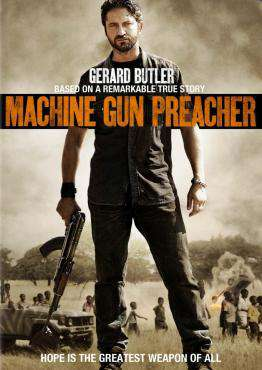 Machine Gun Preacher, Movie on DVD, Action