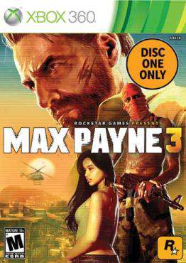 Max Payne 3 X360 (Disc 1 Only)