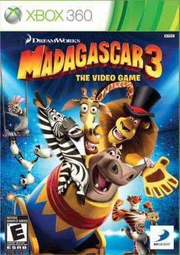 Madagascar 3: The Video Game X360