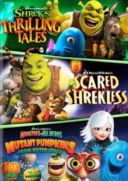 Spooky Stories: Shrek's Thrilling Tales / Scared Shrekless, Movie on DVD, Family Movies, Kids Movies, Animation Movies, new movies, new movies on DVD