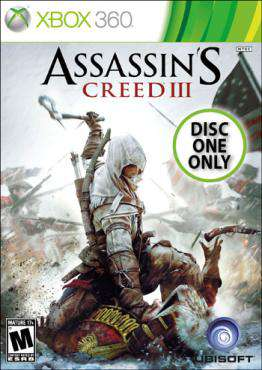 Assassins Creed 3 X360 (Single Player - DISC 1)