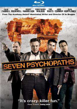 Seven Psychopaths, Movie on BluRay, Comedy