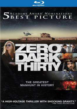 Zero Dark Thirty, Movie on BluRay, Drama