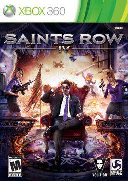 Saints Row: IV, Game on XBOX360, Action Video Games, ,  on XBOX360