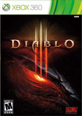 Diablo III, Game on XBOX360, Action Video Games, ,  on XBOX360