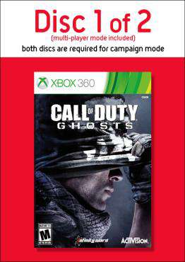 Call of Duty: Ghosts-Disc 1, Game on XBOX360, Shooter Games, ,  on XBOX360