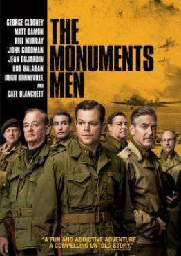 The Monuments Men, Movie on Blu-Ray, Action Movies, Drama Movies, War & Western Movies, ,  on Blu-Ray