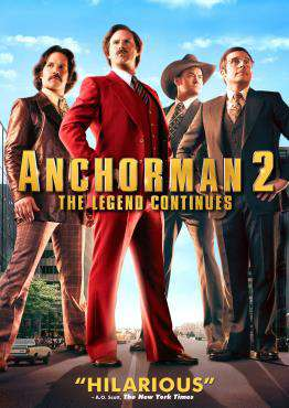 Anchorman 2: The Legend Continues, Movie on DVD, Comedy Movies, ,  on DVD