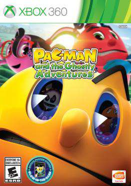 PAC-MAN and the Ghostly Adventures, Game on XBOX360, Family Games, ,  on XBOX360