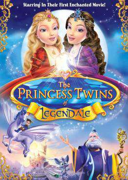 Princess Twins of Legendale, Movie on DVD, Family Movies, Kids Movies, ,  on DVD