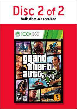 Grand Theft Auto V - Disc 2, Game on XBOX360, Action Video Games, ,  on XBOX360