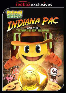 PAC-MAN and the Ghostly Adventures: Indiana Pac and the Temple of Slime, Movie on DVD, Family Movies, Kids Movies, ,  on DVD